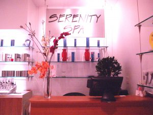 Serenity Spa reception 300