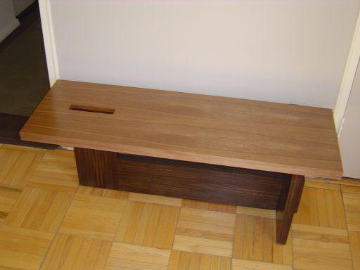 Japanese Wenge Bench 512