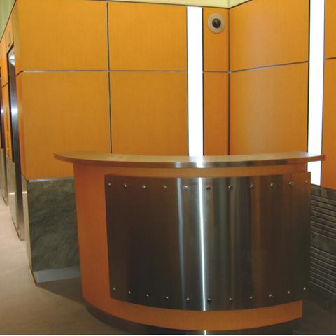 Custom Reception Desk 480