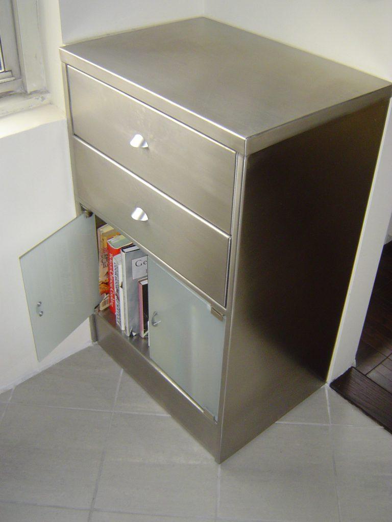 SS Kitchen Storage Cabinet 768