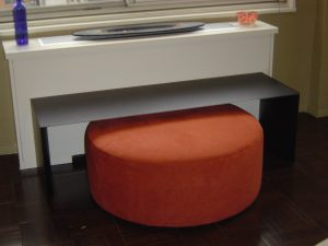 Custom Pouf and Bench 300