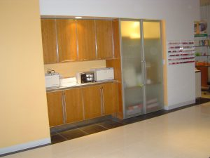 Light Cherry Cabinetry 300