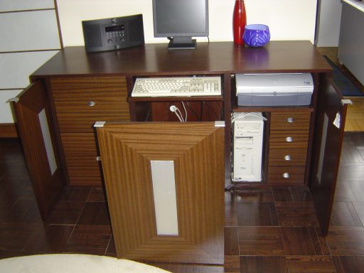 Interior of Credenza 512