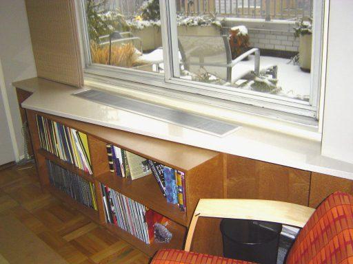 Triangle Bookcase View 512