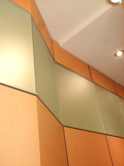 Custom Angular Glazing 512