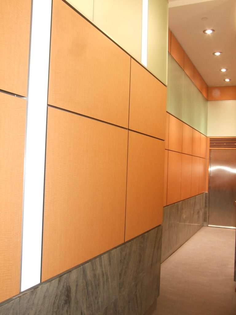 Elevator West Wall View 768
