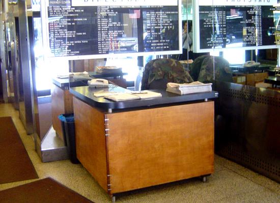Reception Desk Old 550